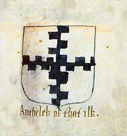 Arms of Auchinleck of that Ilk