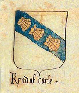 Arms of Rynd of Carse