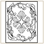 Medieval-Pattern-01 Coloring Page