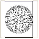 Medieval-Pattern-06 Coloring Page