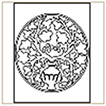 Medieval-Pattern-08 Coloring Page